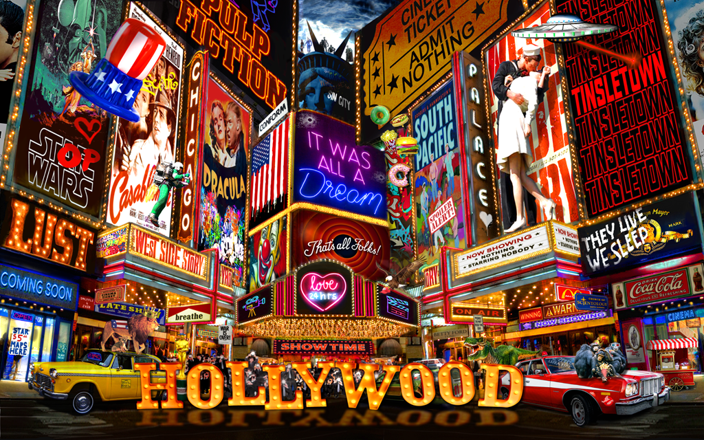 Hollywood Glamour by Dirty Hans