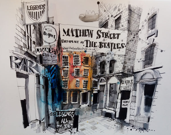 Matthew Street, Liverpool by Ian Fennelly