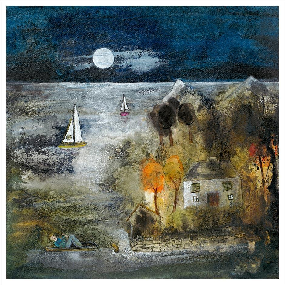Night Fishing by Rosa Sepple