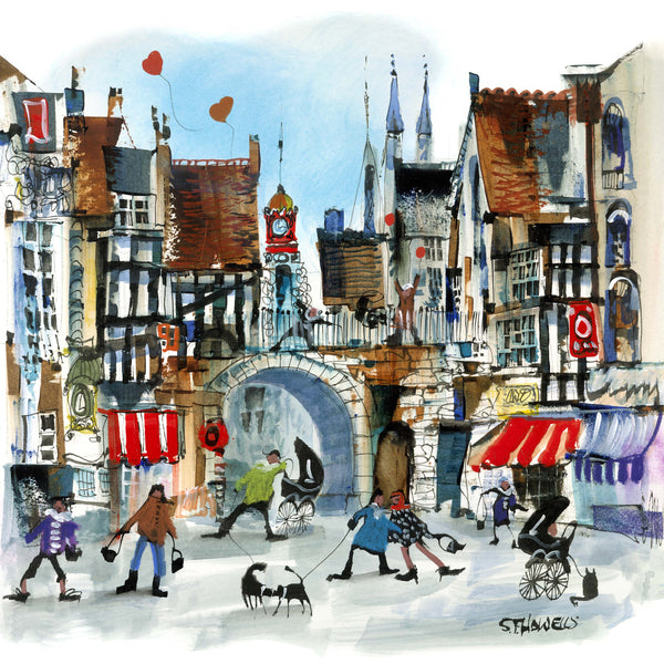 Chester Times by Sue Howells