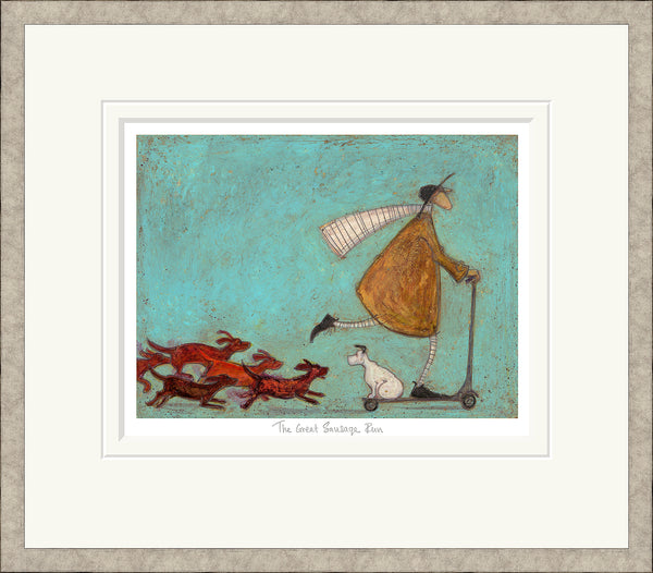 The Great Sausage Run by Sam Toft *NEW