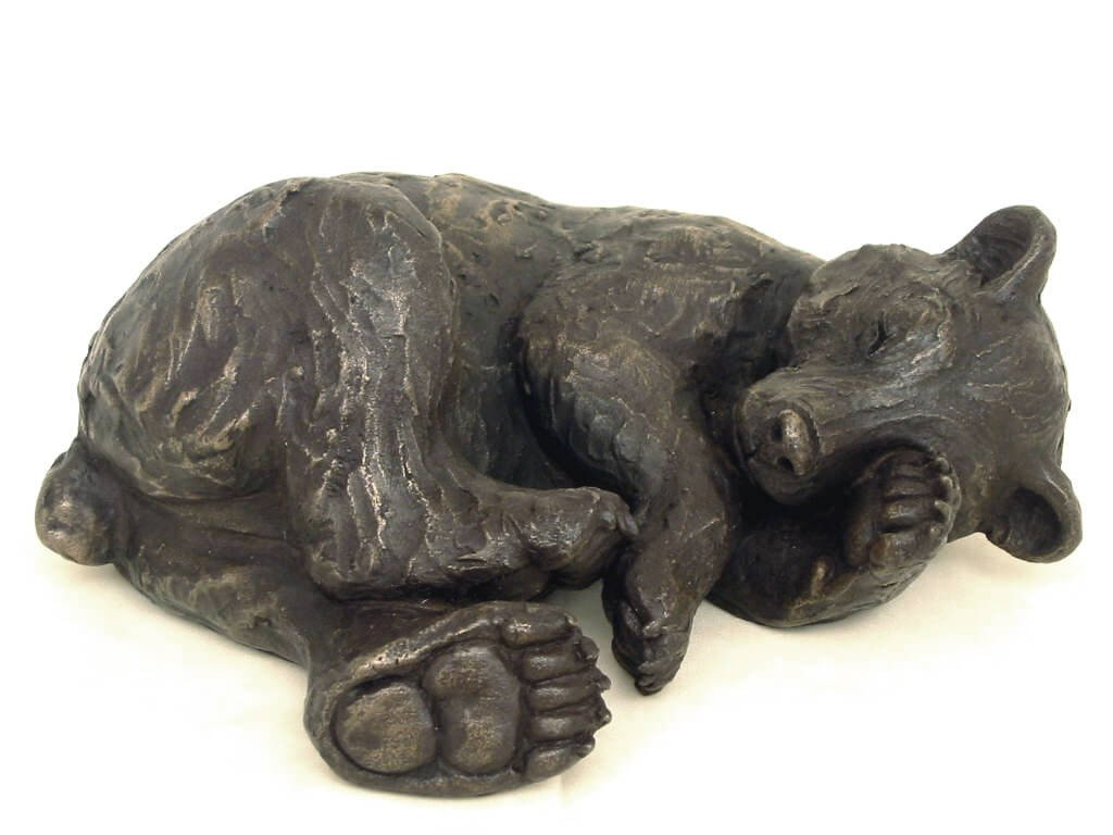 Edward Sleeping Bear Cub by Suzie Marsh *Out of stock, coming soon