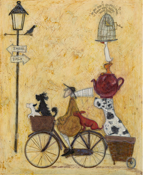 We're Not Lost, We're On Our Way by Sam Toft *NEW