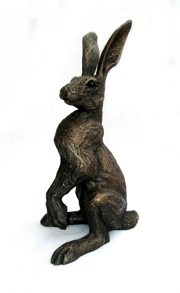 Upright Alert Hare by Suzie Marsh