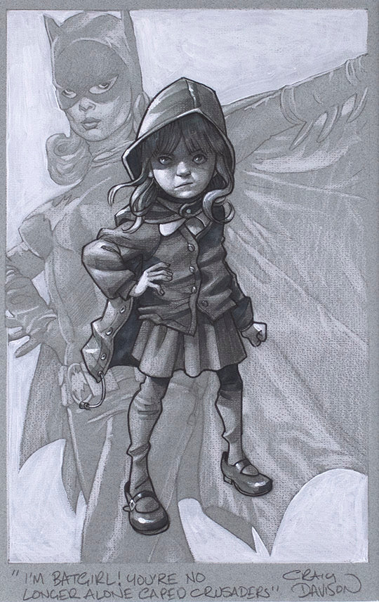 Gotham Girl (Sketch)