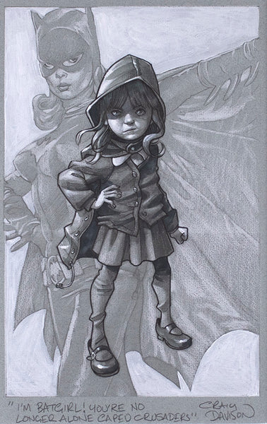 Gotham Girl (Sketch) *NEW RELEASE