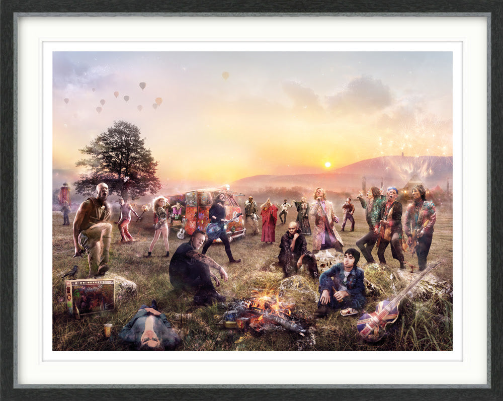 GLASTO! *NEW by Mark Davies
