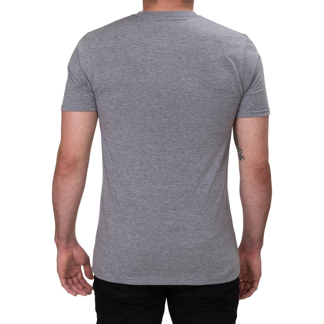 Mens/Unisex Grey Be Kind Allmade T-shirt Back