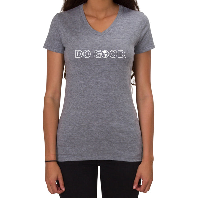 Do Good. Women's V-Neck Allmade T-shirt