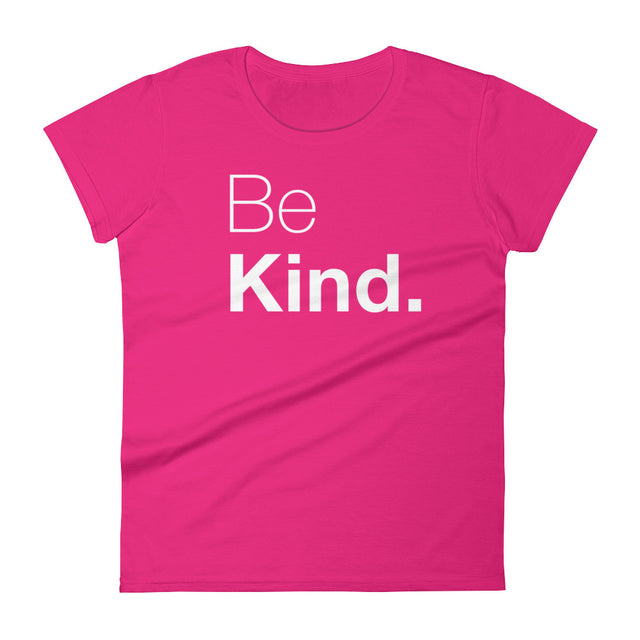 Be Kind Women's short sleeve t-shirt - The Do Good Shop