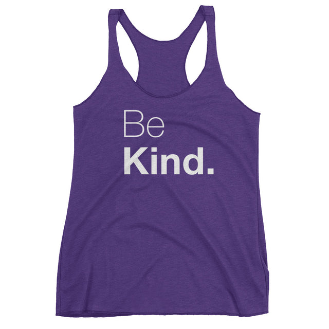 Be Kind Women's Racerback Tank - The Do Good Shop