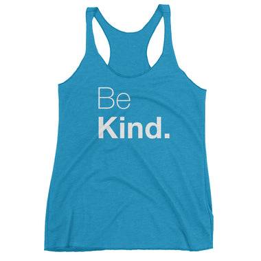 Be Kind Women's Racerback Tank