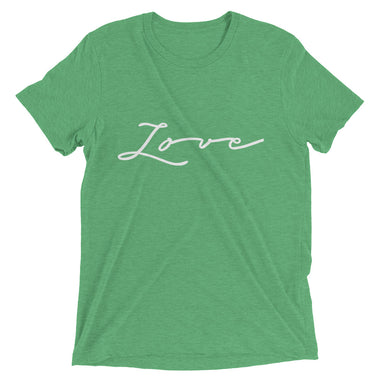 Love Triblend Mens Short sleeve t-shirt - The Do Good Shop