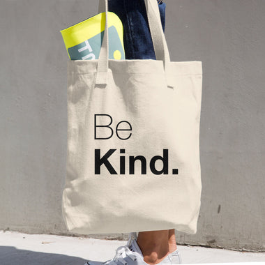 Be Kind Cotton Tote Bag - The Do Good Shop