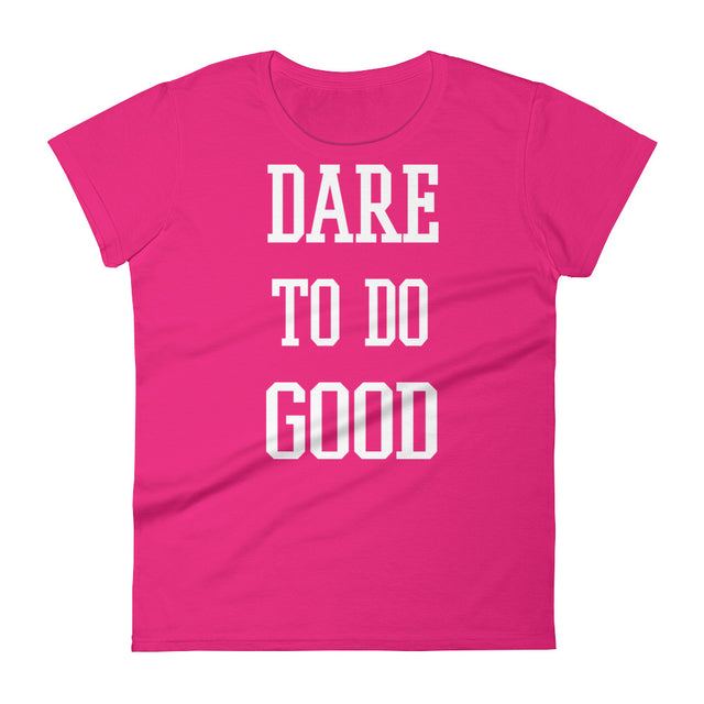Women's short sleeve t-shirt - The Do Good Shop