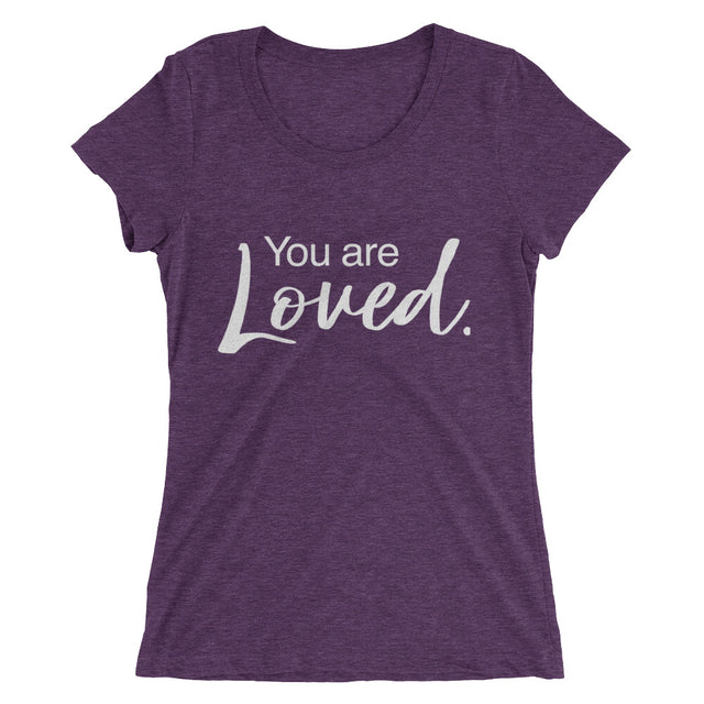 You Are Loved Ladies' short sleeve t-shirt - The Do Good Shop