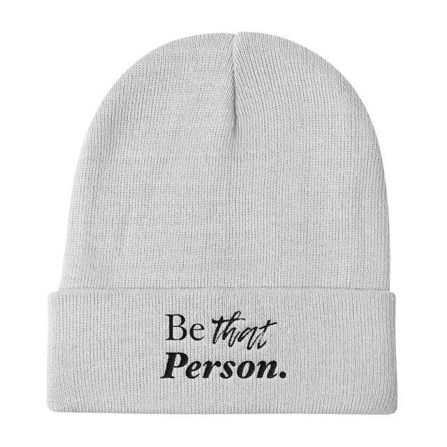 Be That Person Knit Beanie - The Do Good Shop