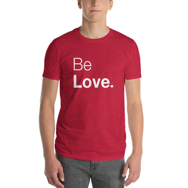 Be Love Men's short sleeve t-shirt