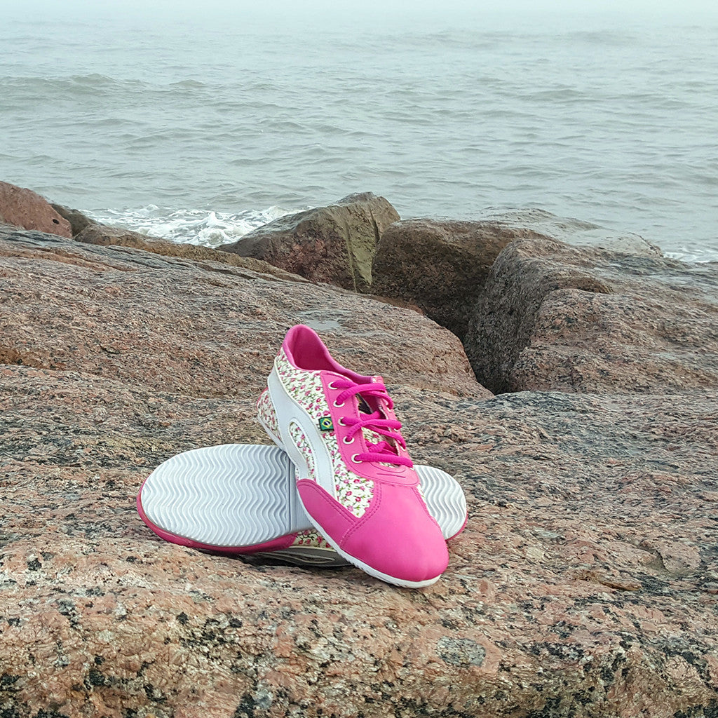 bababa7e64 Slim Sneaker Floral and Pink – Taygra Houston