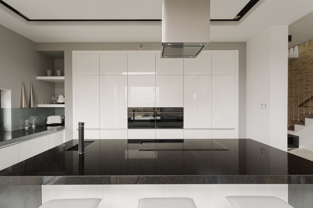 White and Black Galaxy Granite Floor Tiles: Standing the Test of Time