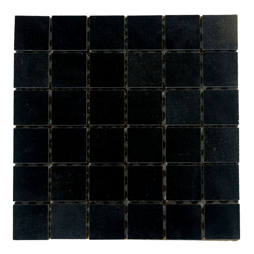 "Absolute Black Granite Mosaic - 2"" x 2"" Polished"