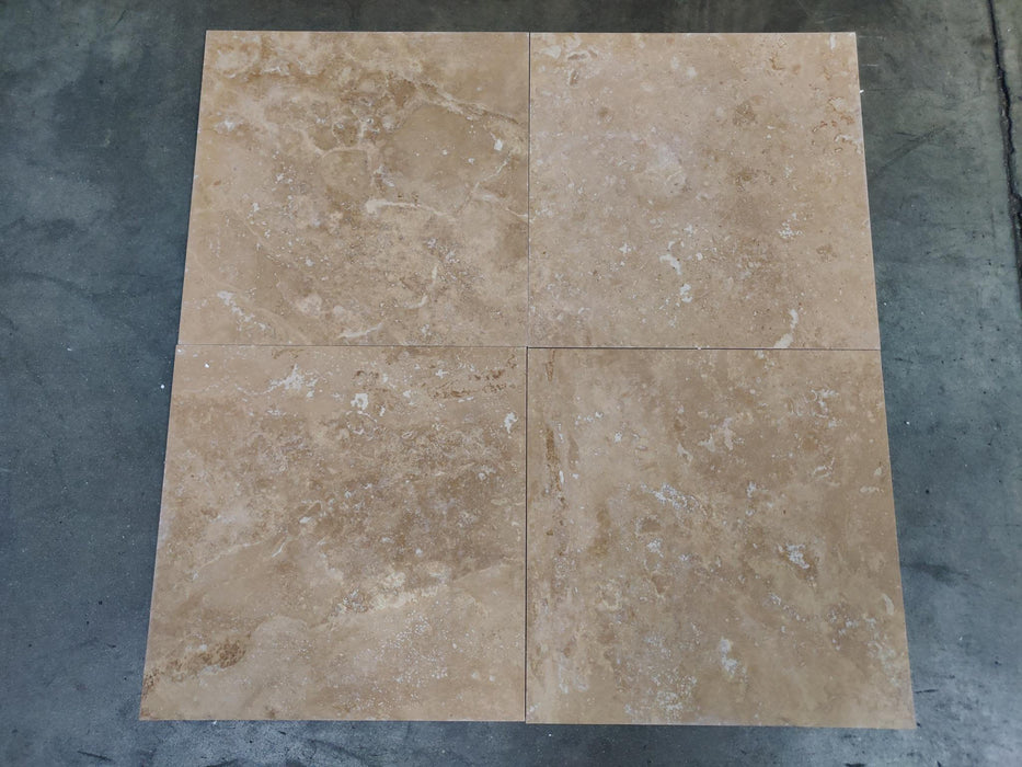"Anthill Travertine Tile - 24"" x 24"" x 3/8"""