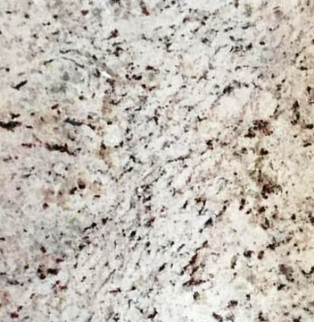"Bianco Romano Granite Tile - 18"" x 18"" x 3/8"" Polished"