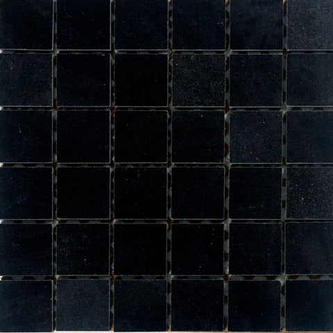 "Black Galaxy Granite Mosaic - 2"" x 2"" Polished"