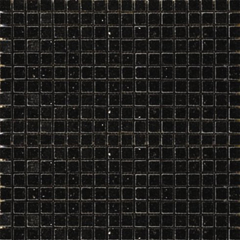 "Black Galaxy Granite Mosaic - 5/8"" x 5/8"" Polished"