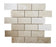 "Botticino Marble Mosaic - 2"" x 4"" Brick Polished"