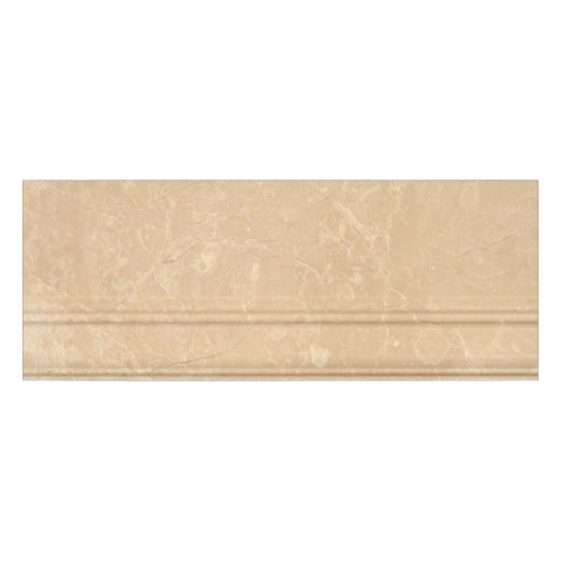 "Botticino Marble Baseboard - 5"" x 12"" Polished"