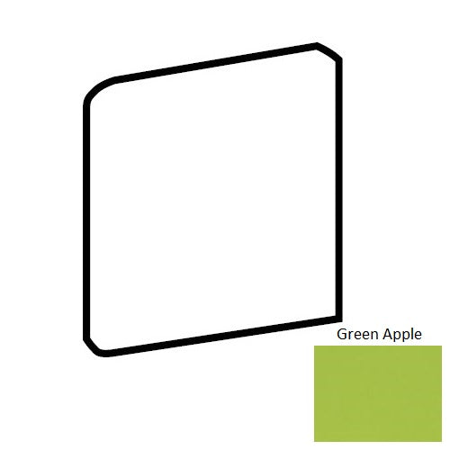 Bright & Matte Green Apple Q076