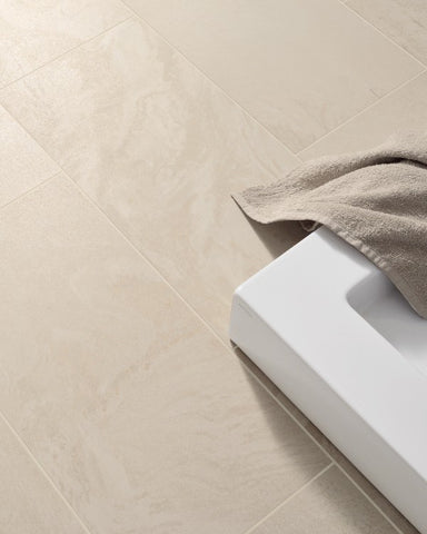 Semi Polished Horizon Avorio Porcelain Tile