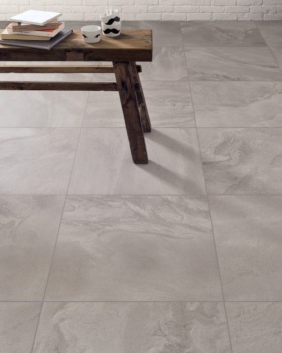 Semi Polished Horizon Grigio Porcelain Tile