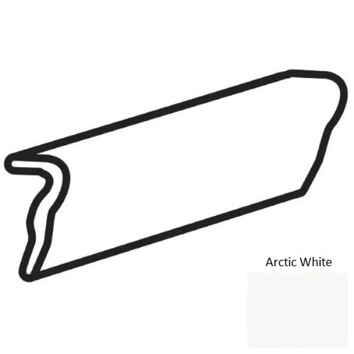 Liners & Chair Rail Arctic White 0790