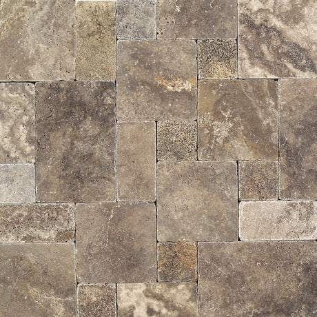 Andes Gray Blend Travertine TS35