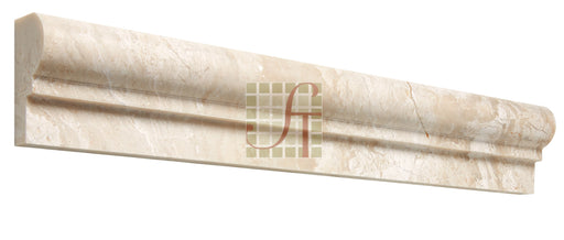 "Diano Reale Marble Liner - 2"" x 12"" F1 Chair Rail"