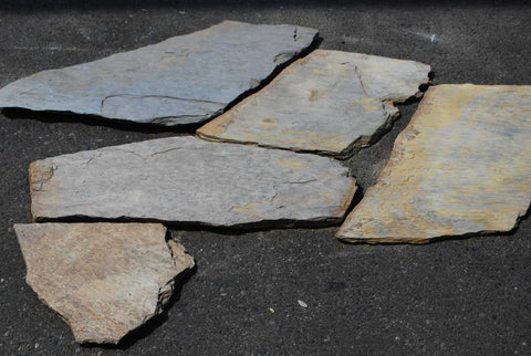 "Eldorado Slate Flagstone - Random Sizes x 3/4"" - 1"""