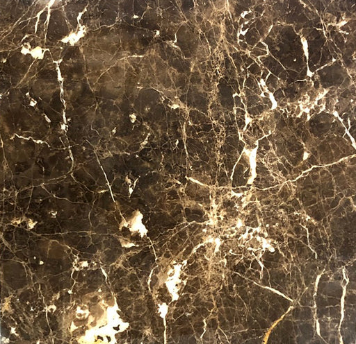 Emperador Dark Polished Marble Tile