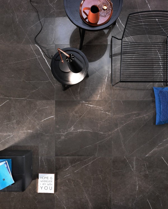Polished Dreaming Pietra Gray Porcelain Tile