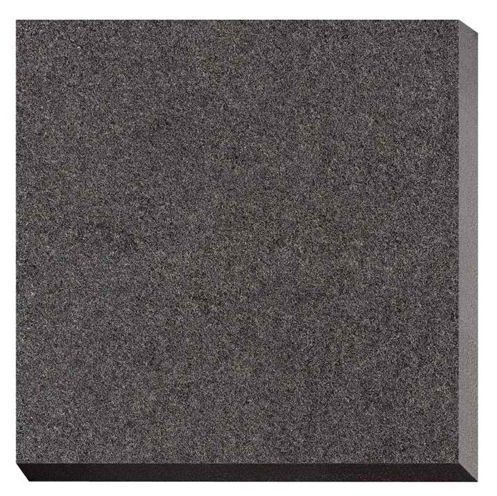 "Eco-Outdoor 2.0 Jet Black Porcelain Tile - 24"" x 24"" x 3/4"" Matte"