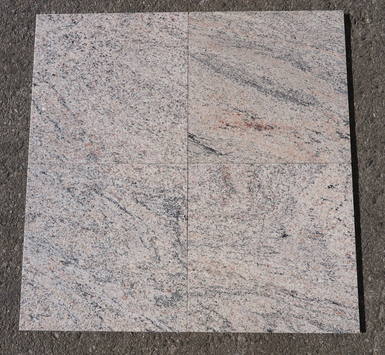 Polished Indian Juparana Light Granite Tile