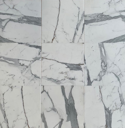 Italian Statuary White Marble Tile - Honed