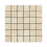 "Ivory Travertine Mosaic - 2"" x 2"" Honed"