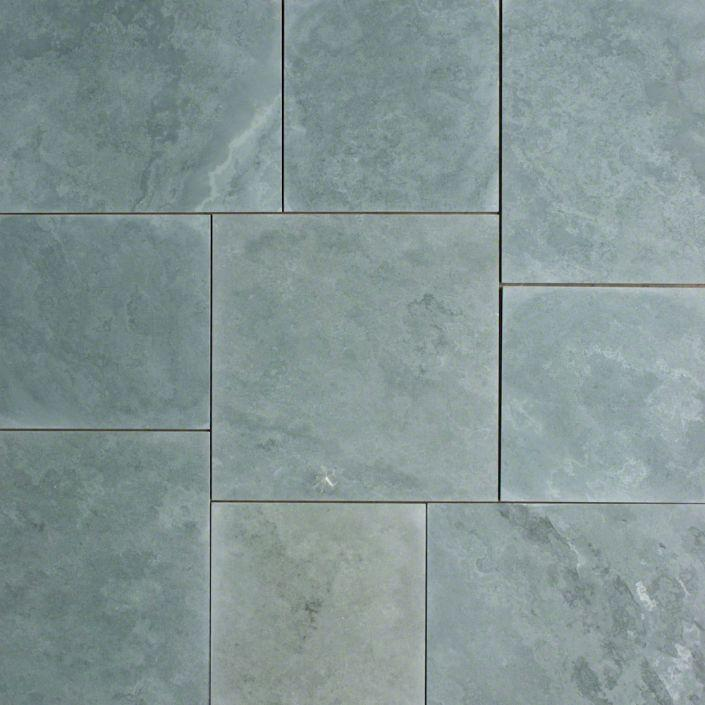 "Full Tile Sample - Jade Green Slate Tile - 16"" x 16"" x 3/8"" - 1/2"" Honed"