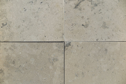 Jura Grey Limestone Tile - Honed