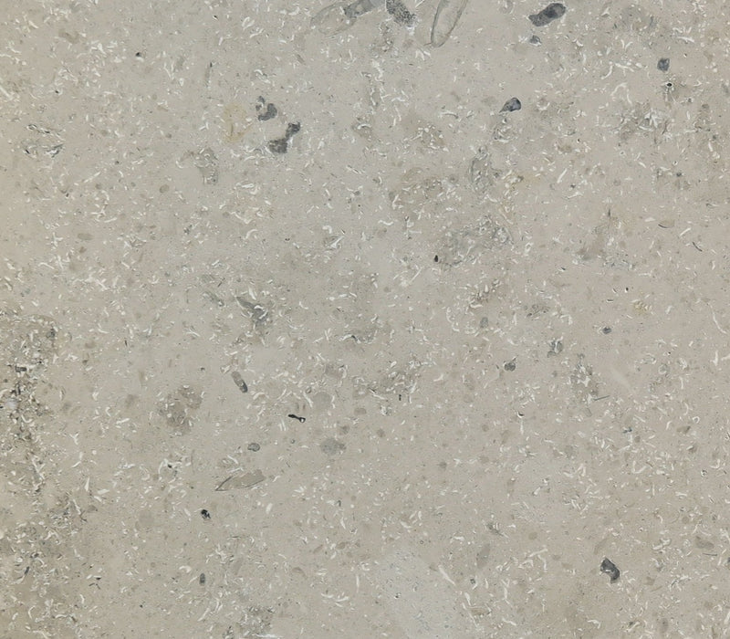 "Full Tile Sample - Jura Gray Limestone Tile - 12"" x 12"" x 3/8"" Honed"