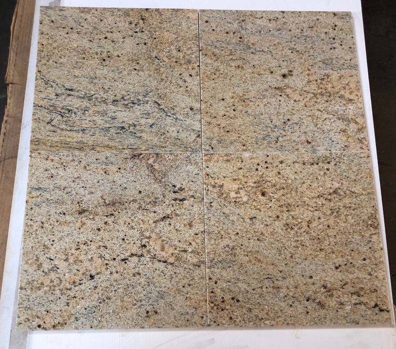 Polished Kashmir Gold Granite Tile