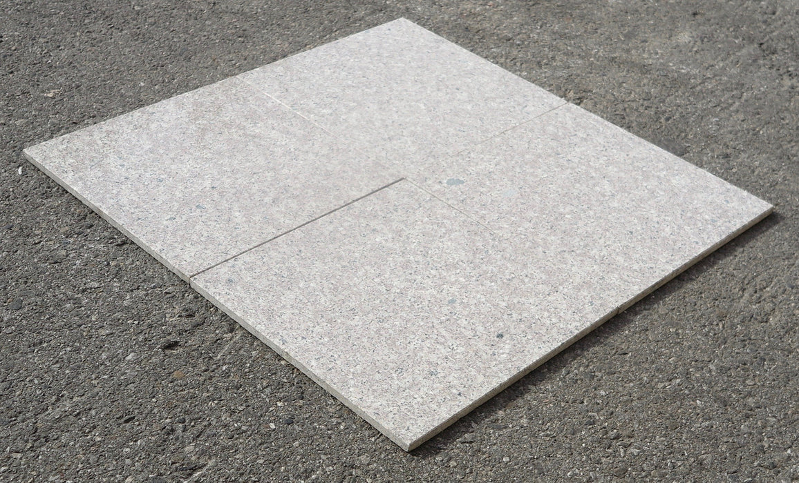 "Majestic Grey Granite Tile - 12"" x 12"" x 3/8"""