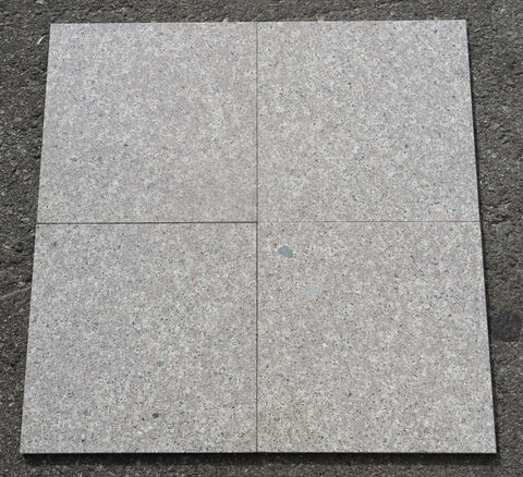 "Polished Majestic Grey Granite Tile - 12"" x 12"" x 3/8"""